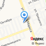 Ангарский экономико-юридический колледж на карте Ангарска