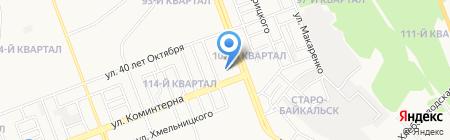 Delavie на карте Ангарска