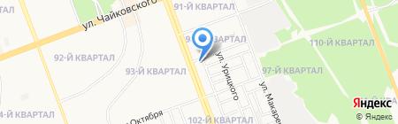 Пекарня Кубекова на карте Ангарска