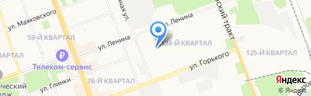 Магазин товаров для дома на карте Ангарска