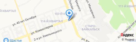 СМНУ-70 на карте Ангарска