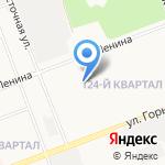 Шаттл-И на карте Ангарска