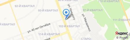 Капитал на карте Ангарска