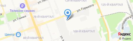 Котофей люкс на карте Ангарска