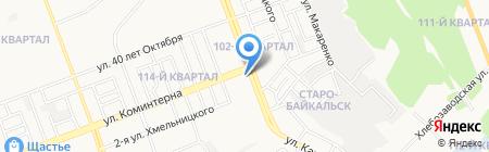 Вита-дент на карте Ангарска