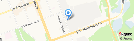 Вираж на карте Ангарска