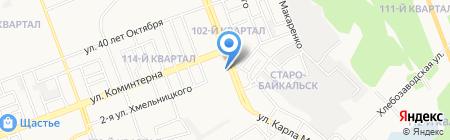 Эколор38 на карте Ангарска