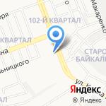 Подборщик автоэмалей на карте Ангарска