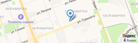 Rock Mashine на карте Ангарска