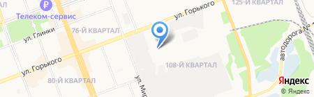 H2O на карте Ангарска