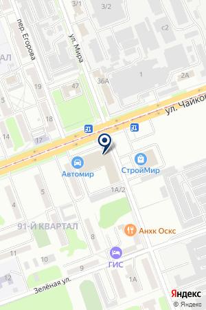 Телефонный справочник потребителя на карте Ангарска