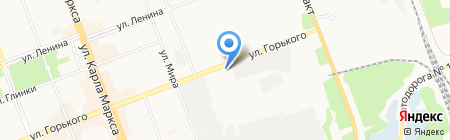 Центр Подшипников на карте Ангарска