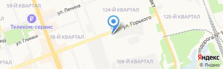 ГорСвет на карте Ангарска