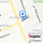 Трэк на карте Ангарска