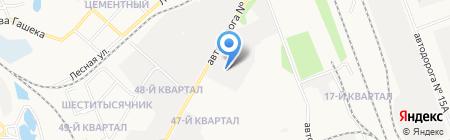 Тепломеханик на карте Ангарска