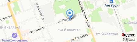 Антенны+ на карте Ангарска