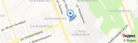 ВТК-Восток на карте Ангарска