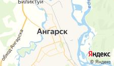 Отели города Ангарск на карте