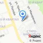 АнгаТранс на карте Ангарска