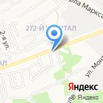 Хозяйственно-комиссионный магазин на карте Ангарска