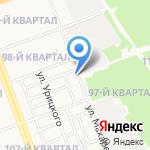 На Макаренко на карте Ангарска