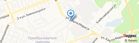 АЗС Омни на карте Ангарска