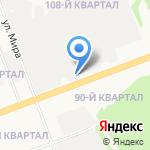 2 этаж на карте Ангарска