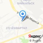Компания по установке газобаллонного оборудования на автомобили на карте Ангарска