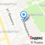 Радар на карте Ангарска