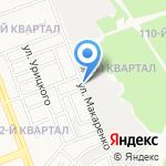 Хадо на карте Ангарска