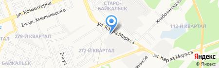 Автообувь на карте Ангарска
