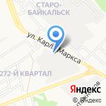 Таврия на карте Ангарска