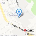 Востсибтрест на карте Ангарска