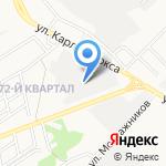 Оптово-розничная база на карте Ангарска
