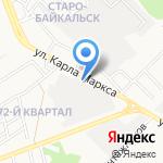 Шабнам на карте Ангарска