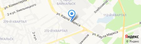 Шэлдс на карте Ангарска