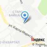 ОКБА на карте Ангарска