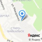 Рулевой на карте Ангарска