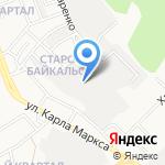 ЛАВ на карте Ангарска
