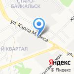 Honda Stim на карте Ангарска