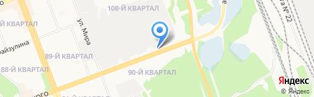 У пивовара на карте Ангарска