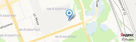 АнгараХимСтрой на карте Ангарска