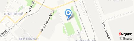 КИЯН на карте Ангарска