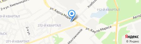 Xenon на карте Ангарска