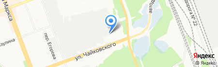 Переработка пластмасс на карте Ангарска
