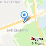 Иркутскоблгаз на карте Ангарска