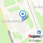 Привокзальный-4 на карте Ангарска
