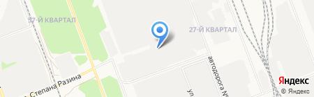 АнгараПромКомплект на карте Ангарска