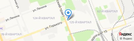 КАЛАМБУР на карте Ангарска