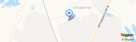 ЗЖБИ 1 на карте Ангарска
